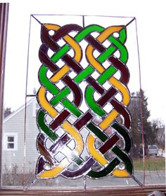 celtic knot stained glass - group picture, image by tag - keywordpictures.com