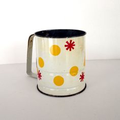 Vintage Sifter Androck Flour Sifter Retro by ShaginyAndTil on Etsy