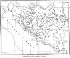Hrvatska polovicom 14. vijeka