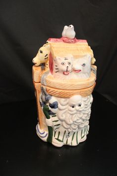 Noah's Ark Ceramic Cookie Jar | eBay