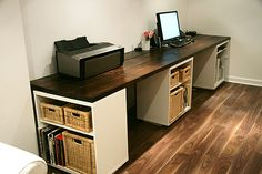 Thank you Aubrey & Lindsay for this incredible contribution to the do-it-yourself world. I am currently d-r-o-o-l-i-n-g over this beautiful DIY desk. I am just loving it's simplicity and charac...