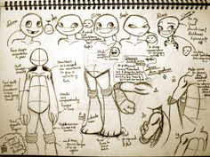 A TMNT tutorial by Shenny-Shendelier on deviantART