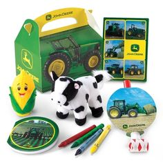 John Deere Party Favor Box in September 2012 from Birthday Express on shop.CatalogSpree.com, my personal digital mall.