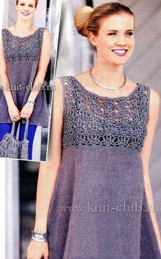 Las túnicas tejidas 2014 // Alla Maksimenko