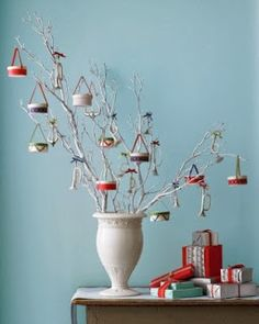 DIY Christmas Ornaments: Drum Ornaments