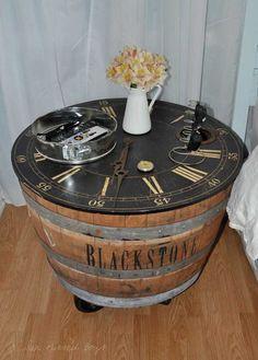 25 Brilliantly Creative DIY Projects Reusing Old Wine Barrels Barrel  Furniture, Diy Furniture, Repurposed