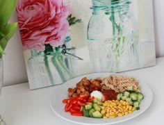 Helt siden jeg flyttet inn i bokollektiv har jeg fått helt dilla på å spise salater. Det er så go...