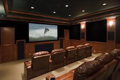 Custom home theater lighting tips