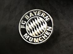 FC Bayern Munchen Black and White Logo Wallpaper HD