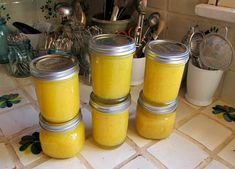 preserving lemons in a pureed form
