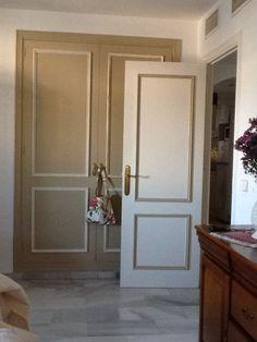 Puertas pintadas con Cafe Au Lait y Neutro