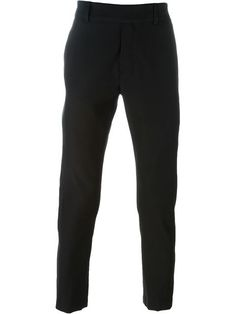 Ann Demeulemeester slim fit cropped trousers