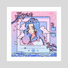 Character Aesthetic 649151733776019615 - ✔ Cute Videos Kawaii Flower ✔ Cute Videos Kawaii Flower Source by popomackowiak Art Kawaii, Arte Do Kawaii, Cute Kawaii Drawings, Cute Art Styles, Cartoon Art Styles, Aesthetic Art, Aesthetic Anime, Purple Aesthetic, Aesthetic Light