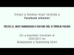 Dr. Lenkei Gábor: Emiatt a felvétel miatt törölték a Facebook oldalam! - YouTube Cards Against Humanity, Facebook, Youtube, Youtubers, Youtube Movies