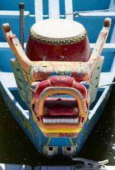 An old dragon boat floats at the Tempe Town Lake marina during the Arizona Dragon Boat Festival in Tempe, Ariz., on Sunday March Tempe Town Lake, Old Dragon, Dragon Boat Festival, Arizona, March, Sunday, Decor, Domingo, Decoration