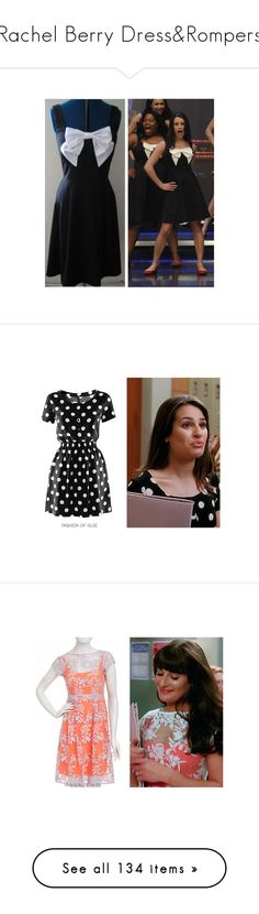 """""""Rachel Berry Dress&Rompers"""" by taught-to-fly19 on Polyvore featuring glee, dresses, vestidos, floral chiffon dress, strapless floral dress, long floral dresses, strapless slip, long slip, blue dress e stretch dress"""