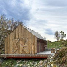 Naust paa Aure by TYIN tegnestue Architects. Location: Aure Kommune, More og Romsdal, Norway