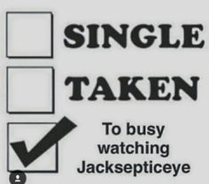 Just me, Jack's videos, Mark's videos and nobody else at all.