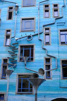 MUSIC played by RAIN at Kunsthofpassage - Hof der Elemente - Dresden