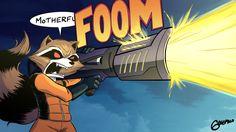 Serie Marvel, Marvel 3, Marvel Comics, Comic Book Pages, Comic Books Art, Comic Art, Galaxy Universe, Nerd Art, Rocket Raccoon
