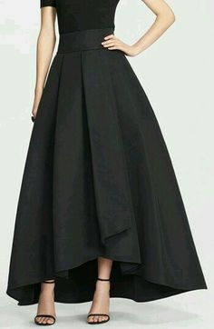 high low long skirt on sale at reasonable prices, buy 2016 England High Low Long Skirts For Women Navy Blue Old Green Black Long Skirt Women Clothing Pleat Maxi Skirt from mobile site on Aliexpress Now! Satin Skirt, Dress Skirt, Dress Up, Skirt Outfits, Dress Long, Flared Skirt, Modest Outfits, Prom Dress, Summer Outfits