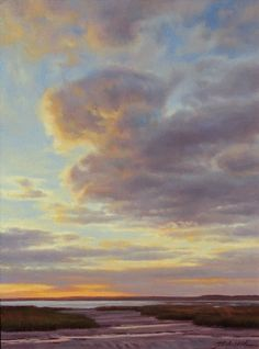 """""""Coastal Glow"""" by JC Airoldi Oil ~ 24 x 18"""
