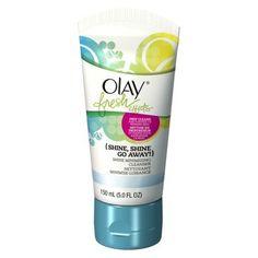 Olay Fresh Effects Shine, Shine Go Away Shine Minimizing Cleanser