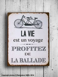 "{ PHRASES / SENTENCES : Citation } "" La vie est un voyage, profitez de la ballade "" <=> "" The life is a journey, enjoy the ride "" ~° Words Quotes, Wise Words, Me Quotes, French Words, French Quotes, French Sayings, Dont Be Normal, Love One Another Quotes, Deco Retro"