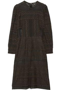 Isabel Marant|Trecia embroidered gauze dress|NET-A-PORTER.COM