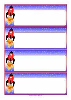 Rocket-themed editable communication slips