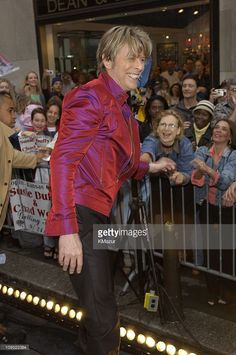 David Bowie during David Bowie Performs on 'The Today Show' Summer Concert Series - June 16, 2002 at NBC Studios in New York City, New York, United States.
