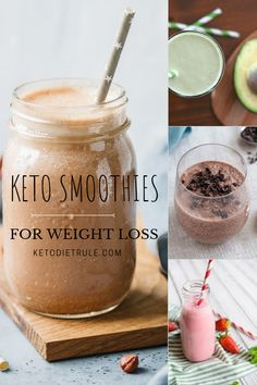 5 best low-carb Keto smoothie recipes for weight loss.