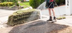 Try laying some brand-spanking new turf! How To Lay Turf, Diy Home Cleaning, Top Soil, Environmental Health, Brick Patterns, Gardening Gloves, Warehouse, Lawn