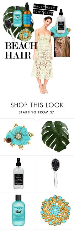 """""""Beach hair with a dress"""" by chicbychoiceworld on Polyvore featuring beauty, Little Barn Apothecary, New Look, Bumble and bumble, SheaMoisture, dress, beachhair, chicbychoice and rentthelook"""