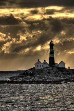 Landegode #Lighthouse - #Norway    http://dennisharper.lnf.com/