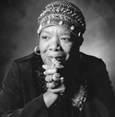 Maya Angelou, legendary author, poet and actress