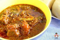 how to cook ogbono soup without palm oil