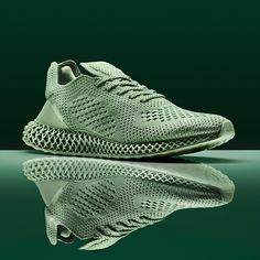 246857e14b9279 Adidas Consortium x Daniel Arsham Future Runner 4D (Aero Green) Cool Adidas  Shoes