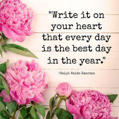 Words of wisdom from Ralph Waldo Emerson.