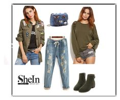 """Shein8"" by merisa-imsirovic ❤ liked on Polyvore"