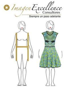Cuerpo tipo  H  que  SI hacer !! Usa vestidos en la talla correcta y elígelos acinturados y amplios en la parte de abajo, que la falda sea en corte A.