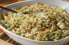 Kraft recipe for Crunchy Asian Salad - uses Italian dressing packet.  One of my favorites!