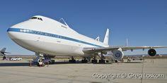 NASA 747 SCA  Edwards AFB  Copyright © MMIX Greg Loskorn  Milepost Imaging