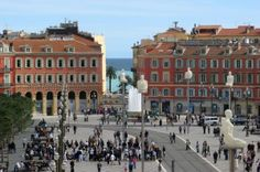 Place Massena, Nice, France. 3 minutes walk from Hotel Nice Beau Rivage