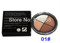 Envío gratis !! 4 colores Cara Corrector cosmético de la gama Palette 4FG -01 #