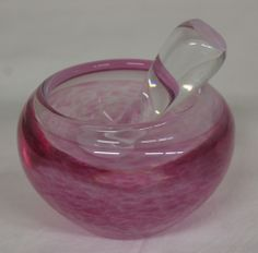 mortar Candle Holders, Candles, Glass, Design, Drinkware, Corning Glass, Porta Velas, Candy