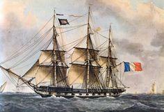 Fragata Francesa 40 cañones-1830