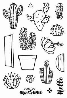 Cactus - Jane's Doodles