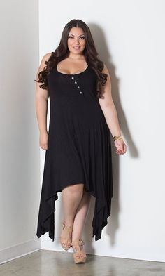 plussize handkerchief dress at Curvalicious Clothes: www.curvaliciousclothes.com