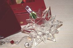 WATERFORD 2015 SNOW CRYSTAL PIERCED ORNAMENT #40005025 NEW #Waterford